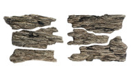 Woodland Scenics Model Railroad Landscape Shelf Rocks (Ready Rocks) 4 Pieces