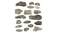 Woodland Scenics Model Railroad Landscape Surface Rocks (Ready Rocks) 18 Pieces