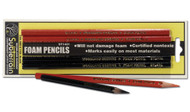 Woodland Scenics Model Railroad Foam Pencil - SubTerrain System - 4-Pack