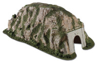 "Woodland Scenics N Scale Ready Landform Tunnel Straight 9-1/2 Wide x14-1/2"" Long"