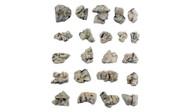 Woodland Scenics Model Railroad Landscape Boulders (Ready Rocks) 22 Pieces