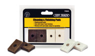 Woodland Scenics Model Railroad Cleaning & Finishing Replacement Pads (8)
