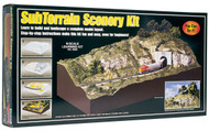 Woodland Scenics Model Railroad Landscape Subterrain Scenery Kit
