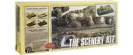 "Woodland Scenics Model Railroad Landscape Scenery Learning Kit - 10x18"" Diorama"