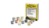 Woodland Scenics Mini-Scene Paint Set 12 Nontoxic Colors 1.5oz Bottles
