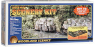 Woodland Scenics HO Scale River Pass Scenery Kit