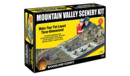 Woodland Scenics Model Railroad Landscape Mountain Valley Scenery Kit