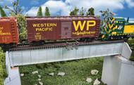 Walthers Cornerstone HO Scale 70ft. Single Track Railroad Deck Girder Bridge