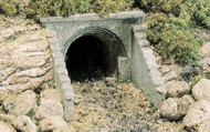 Woodland Scenics N Scale Culverts (2-Pack) Plaster Castings - Masonry