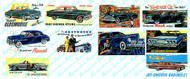 JL Innovative Designs N Scale Details - Billboards 1940s-1960s Automobile Signs