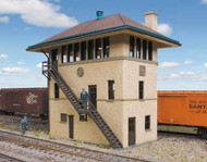 Walthers Cornerstone HO Scale Building/Structure Kit ATSF Interlocking Tower