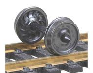 """Kadee HO Scale Code 110 (.110"""") 36"""" Ribbed-Back RP-25 Wheelsets (12-Pack)"""