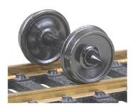 """Kadee HO Scale Code 110 (.110"""") 36"""" Smooth-Back RP-25 Wheelsets (12-Pack)"""