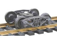 "Kadee HO Scale Bettendorf Metal Trucks Code 110 - 33"" Smooth-Back Wheels 1 Pair"