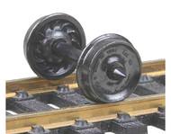 "Kadee HO Scale Code 110 (.110"") 33"" Ribbed-Back RP-25 Wheelset (12-Pack)"