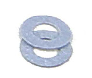 """Kadee HO Scale Couplers #209 Gray Insulated Fiber Washers (.010"""" Thick) 48-Pack"""