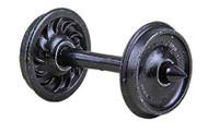 "Kadee HO Scale Code 88 (.088"") 36"" Ribbed-Back Semi-Scale Wheelset (12-Pack)"