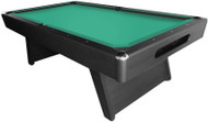 Imperial Sharpshooter 8ft Slate Pool/Billiards Table - Black Wood Veneer Finish
