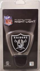 NFL LED Night Light Oakland Raiders