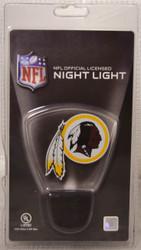 NFL LED Night Light Washington Redskins