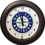 MLB Seattle Mariners Team Neon Everbright Wall Clock