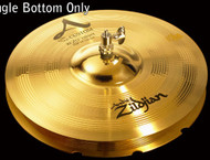 "Zildjian A20802  14"" A Custom Rezo Hi Hat - Bottom Drum Set Cymbal"