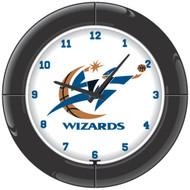 NBA Washington Wizards Light Up  Everbrite Neon Wall Clock