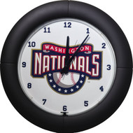 MLB Washington Nationals Light Up Neon Wall Clock