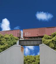 Walthers Cornerstone HO Scale 30ft. Single Track Railroad Low Deck Girder Bridge