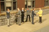 Bachmann O Gauge/Scale Figure/People Set Businessmen (6-Pack)