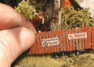Bar Mills HO Scale Model Railroad Detail Parts - Insta-Fence 160 Scale Feet
