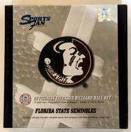 NCAA Sports Fan Florida State Seminoles Pool/Billiard Ball Full Set