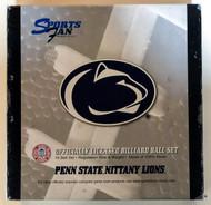 NCAA Sports Fan Penn State PSU Nittany Lions Pool/Billiard Ball Full Set