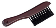 Deluxe Wood Handle/Nylon Pool/Billiards Cleaning Rail Brush - Cherry