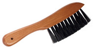 Deluxe Wood Handle/Nylon Pool/Billiards Cleaning Rail Brush - Oak