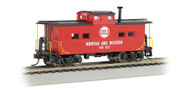 Bachmann HO Scale NortheastStyle Steel Cupola Caboose Norfolk Western/NW #557707
