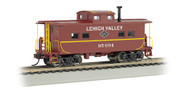 Bachmann HO Scale NortheastStyle Steel Cupola Caboose Lehigh Valley/LV #95094