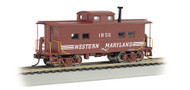 Bachmann HO Scale NortheastStyle Steel Cupola Caboose Western Maryland/WM #1585