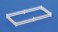 Bachmann HO Scale SceneScapes Accessory SetPicket Fence 24-Pack