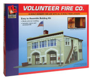 Life-Like/Walthers N Scale Volunteer Fire Company Building/Structure Kit