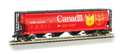 Bachmann HO Scale Cylindrical 4-Bay Grain Hopper Government of Canada/CPWX (Red)