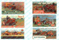 JL Innovative Designs HO Scale Detail - Billboard Signs Vintage Tractors 1940-50