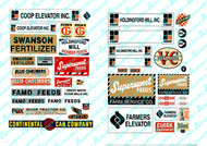JL Innovative Designs HO Scale Detail Parts - Feed & Seed signs