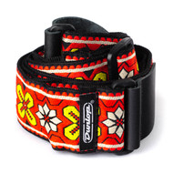 Dunlop Guitar/Bass Strap Jacquard Woven Avalon Red