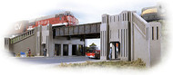 Walthers Cornerstone N Scale Building/Structure Kit Art Deco Highway Underpass