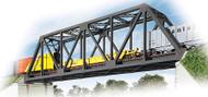 Walthers Cornerstone HO Scale Building Kit Single-Track Railroad Truss Bridge