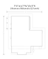 Woodland Scenics O Scale Built-Up Building/Structure Letters Parcels & Post