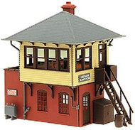 Atlas O Scale Model Railroad Train Building Kit Signal/Switch/Interlocking Tower