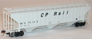Accurail HO Scale Kit PS 4750 3-Bay Covered Hopper Canadian Pacific/Soo #375138