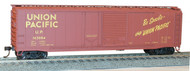 Accurail HO Scale Kit 50' Welded-Side Combo-Door Box Car Union Pacific/UP 163084